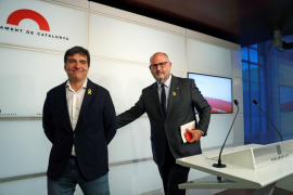 JxCat y ERC dan por zanjada su crisis y garantizan la estabilidad del Govern