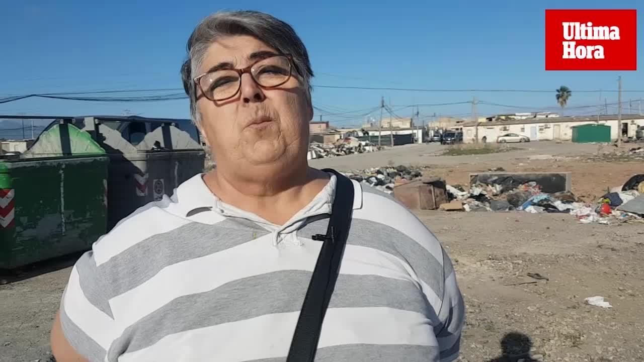 Manuela Cortés, portavoz del poblado: «Quieren enviar a los gitanos de Son Banya a Campos y sa Pobla»