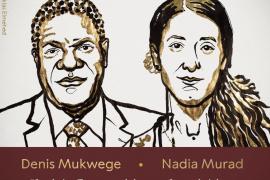 Nobel de la Paz para Mukwege y Murad por combatir la violencia sexual en la guerra