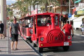 Detenido un alemán por desenganchar el tren turístico de la Playa de Palma