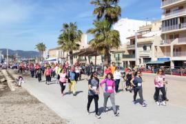 El programa de Nordic Walking Saludable de Palma propone seis rutas de iniciación
