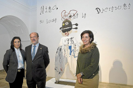 'Miró. Su lucha contra la dictadura' recibe 10.000 visitas en Valladolid
