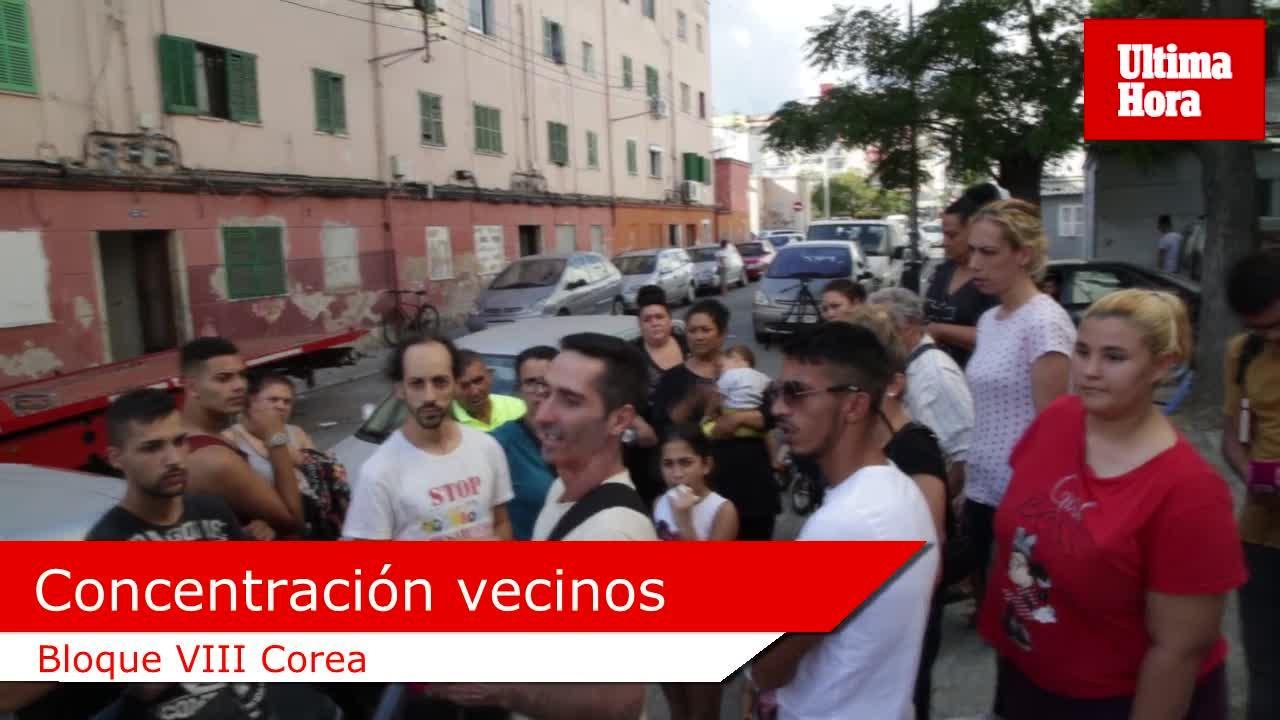 Vecinos de 'Corea' desconfían de que el bloque VIII esté en peligro de caerse