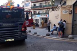 Incendio en la cocina de un bar de Palma