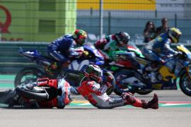 Lorenzo, con una fisura, no disputará el Gran Premio de Tailandia