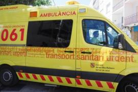 Un joven de 19 años agrede al sanitario del 061 que le atendía en Sant Antoni