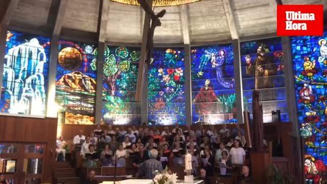 Aires de solemnidad en la iglesia de la Porciúncula por su 50 aniversario