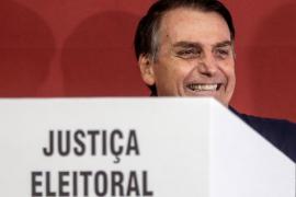 Bolsonaro queda a un paso de la Presidencia de Brasil y va a segunda vuelta con Haddad