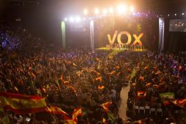 El tuit de Valtonyc sobre el masivo acto de VOX en Vistalegre