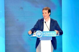Casado pide a Vox «optimizar esfuerzos» para que el PP sea la «fuerza hegemónica» de centro-derecha