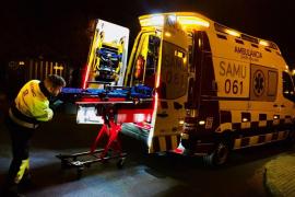 Un hombre resulta herido grave en un incendio en el Port d'Alcúdia