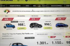 Empresas de rent a car comercializan vehículos a más de 1.000 euros por día