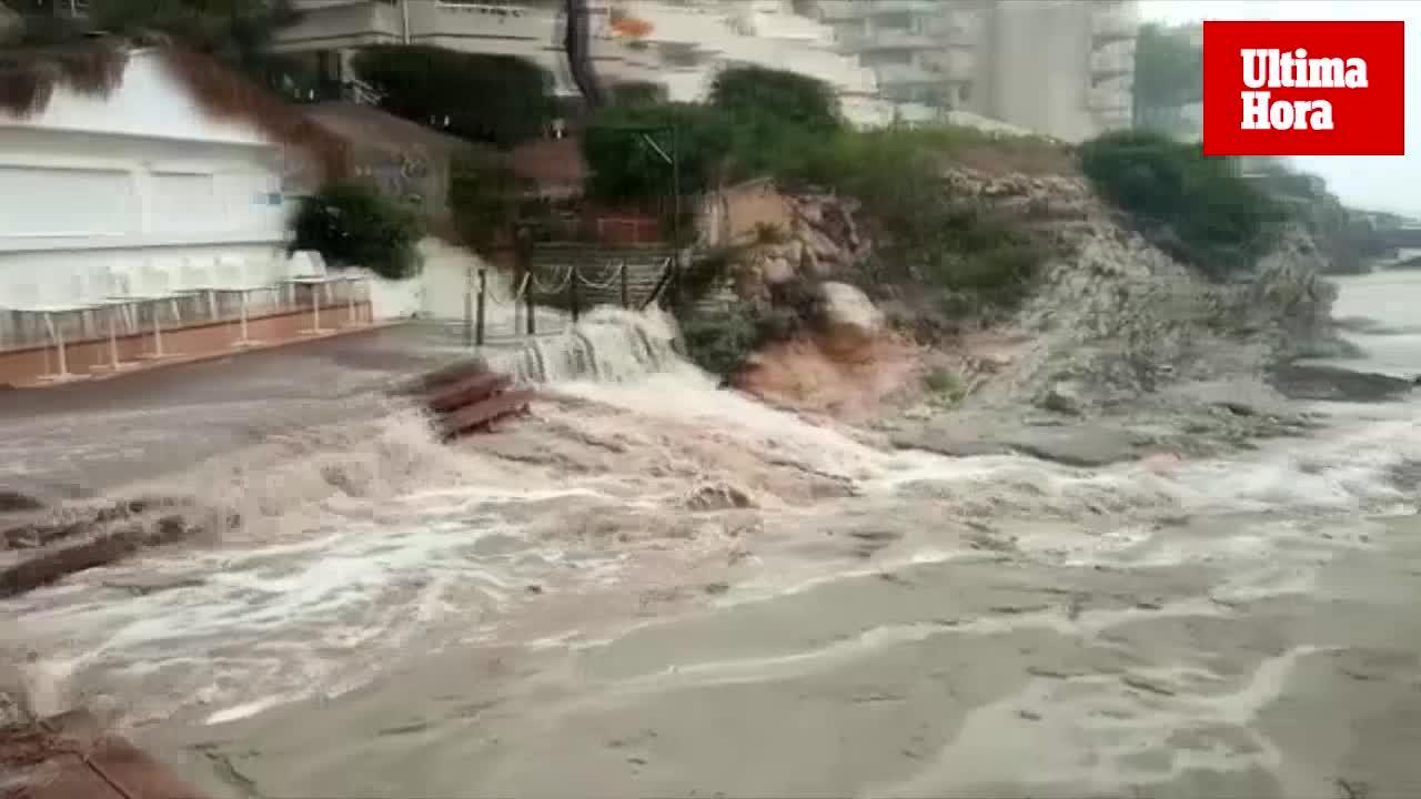 Intensas lluvias en Mallorca