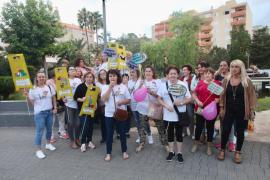 La manifestación de las kellys en Ibiza, en imágenes (Fotos: Daniel Espinosa).