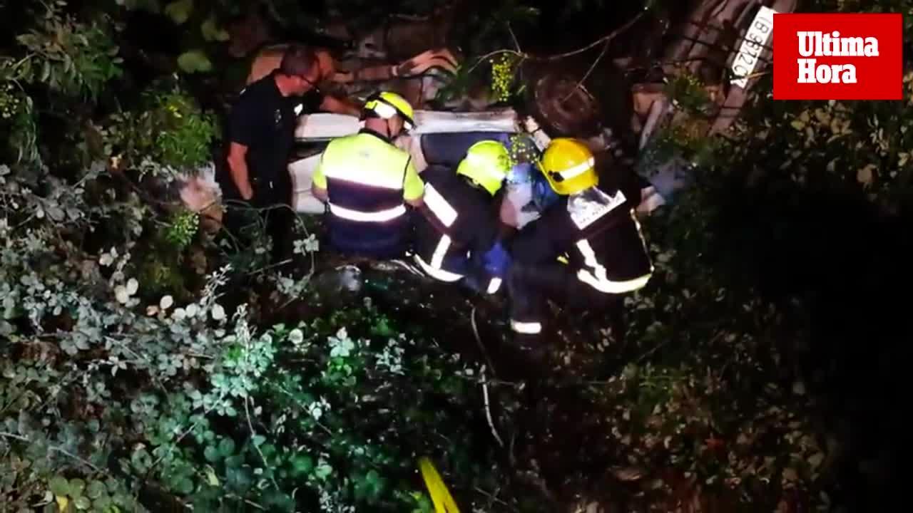 Una joven se precipita con su furgoneta desde el puente de Dalt Es Penyals de Ciutadella
