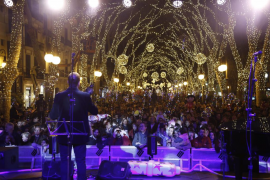 El Ayuntamiento de Palma iluminará la ciudad esta Navidad igual que en 2017