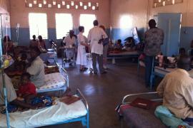 Pediatras mallorquines  ayudan a los niños del Chad, el corazón seco de África