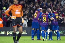 El Barça finiquita en media hora el último trámite antes del Bernabéu
