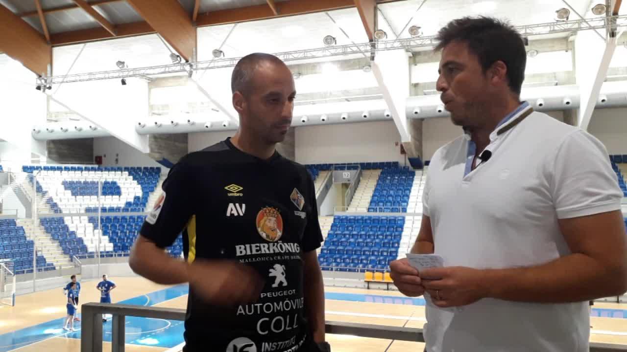 Antonio Vadillo analiza la temporada del Palma Futsal