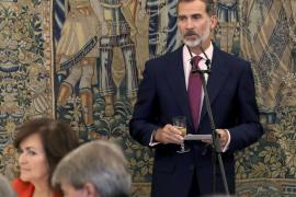 El Rey traslada a Armengol su apoyo por la «tragedia» en Sant Llorenç