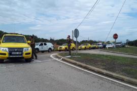 Cort manda un camión de los Bomberos de Palma a Sant Llorenç