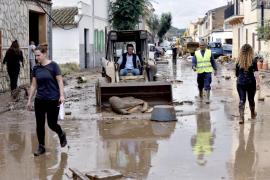 Las lluvias «extraordinarias» han dejado en un solo día en Baleares más de un tercio de lo que cae en todo el año