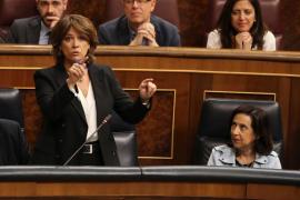 Delgado insiste en que es una «víctima» de Villarejo para «desestabilizar el Gobierno» y no se dejará amedrentar