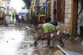 El Govern balear inicia los trabajos para reparar las casas dañadas en el Llevant de Mallorca