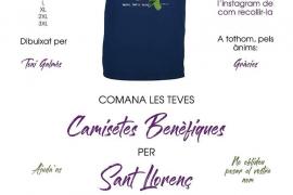 Camisetas solidarias para ayudar a los afectados en Sant Llorenç