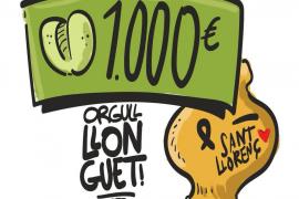 'Llonguets' solidarios con Sant Llorenç