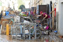 Los damnificados por las inundaciones en el Llevant pueden pedir ayuda al Govern para muebles y otros enseres