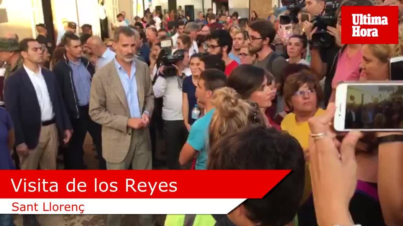 Los Reyes sienten «un enorme orgullo» por la solidaridad con Sant Llorenç