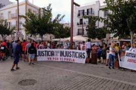 Centenares de familias de atropellados se manifiestan contra los conductores ebrios en Ibiza