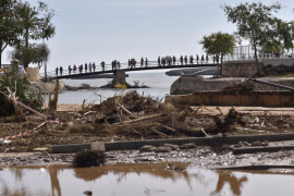 Se amplía al mar la búsqueda del niño desaparecido en la riada de Sant Llorenç