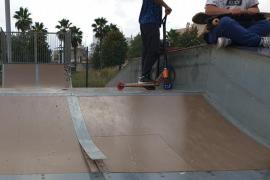 Pista de  'skate' peligrosa
