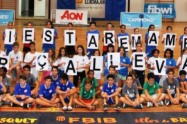 La Supercopa AON recuerda a los damnificados por los sucesos del Llevant de Mallorca