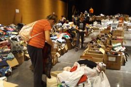 Las donaciones de ropa ya han cubierto las necesidades de los afectados de Sant Llorenç