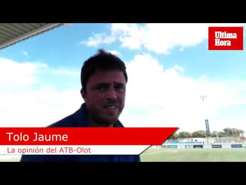 Tolo Jaume analiza la victoria del Atlético Baleares