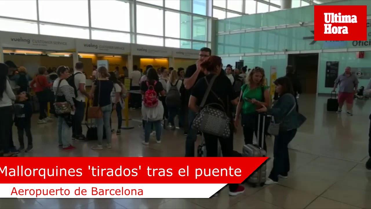 Cancelaciones aéreas: retrasos de 48 horas para volver a Palma como 'guinda' al puente del Pilar