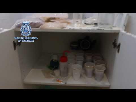 Desmantelado en Palma un laboratorio de sustancias psicotrópicas
