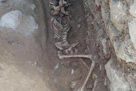 Descubren en Italia un 'enterramiento de vampiro' del siglo V