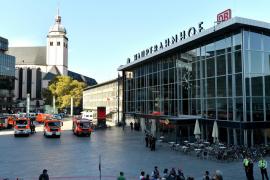 La policía declara «bajo control» la situación tras un secuestro en la estación de tren de Colonia