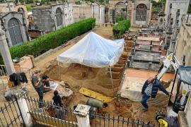 Sin indicios sobre los restos de los fusilados que se buscan en la fosa común de Calvià