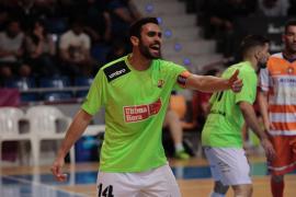 El Palma Futsal pierde a Tomaz entre dos y tres semanas