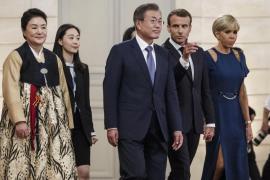 Macron cambia a cuatro ministros de su Gobierno