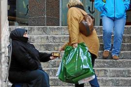 La pobreza afecta al 25 % de la población balear, pese a la recuperación económica