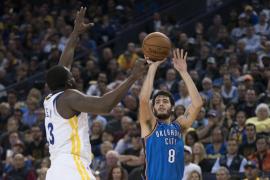 Los Thunder de Álex Abrines abren el curso de la NBA con derrota