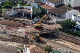 El Consell de Mallorca intervendrá en 21 carreteras afectadas por las inundaciones