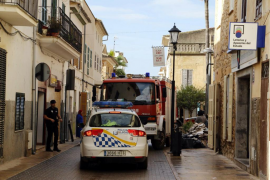 Unos 90 policías locales de Palma han participado de forma voluntaria en labores de tráfico y seguridad en Sant Llorenç