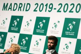 Piqué: «Espero que Madrid viva una semana mágica con la nueva Davis»